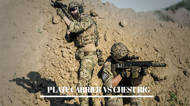 plate carrier vs Chest rig