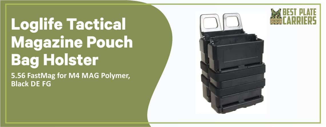 Loglife Tactical Magazine Pouch Bag ( Best Tactical Mag Pouch)