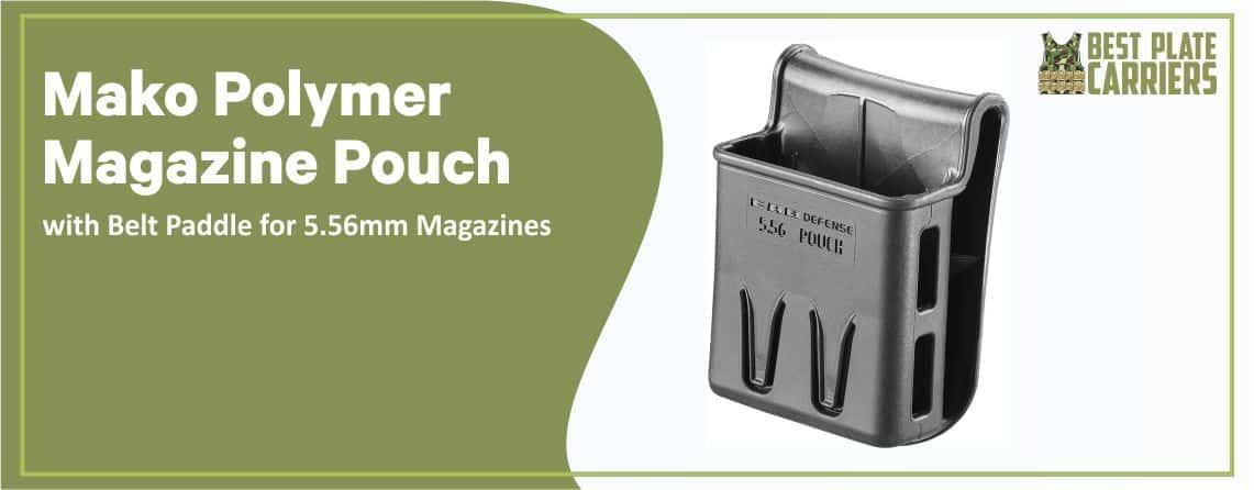 Mako Polymer Magazine Mag Pouch