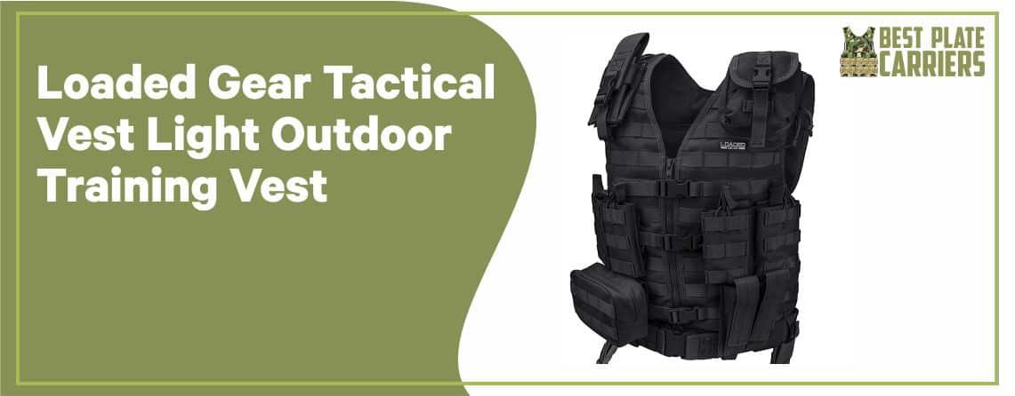 Loaded Gear Tactical Vest - Light Outdoor Training Vest