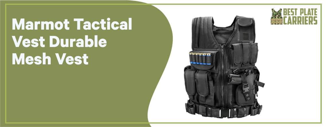Marmot Tactical Vest - Best Plate Carrier for Cross Fit