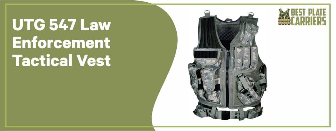 UTG 547 - Law Enforcement Tactical Vest