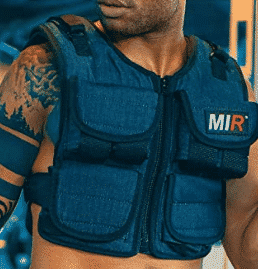 miR Air Flow Weighted Vest with Zipper Option 20lbs - 60lbs