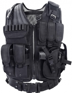 YAKEDA Tactical Vest - Best Budget Plate carrier (Editor's choice)