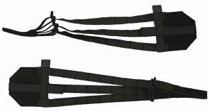 Tactical Tailor Rogue Skeletonized Cummerbund Black