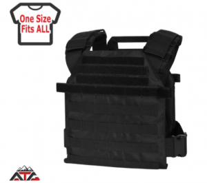 "WarTechGears Tactical Fast Vest 10""X12"" MOLLE"