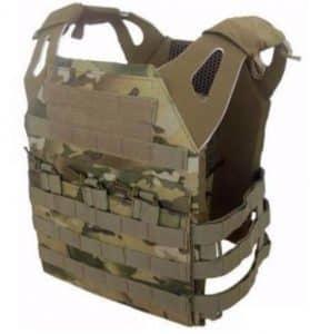 Brown Cameo DLP Tactical Vest