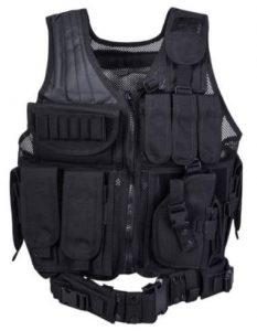 REEHUT Breathable Tactical Vest with Numerous Pouches